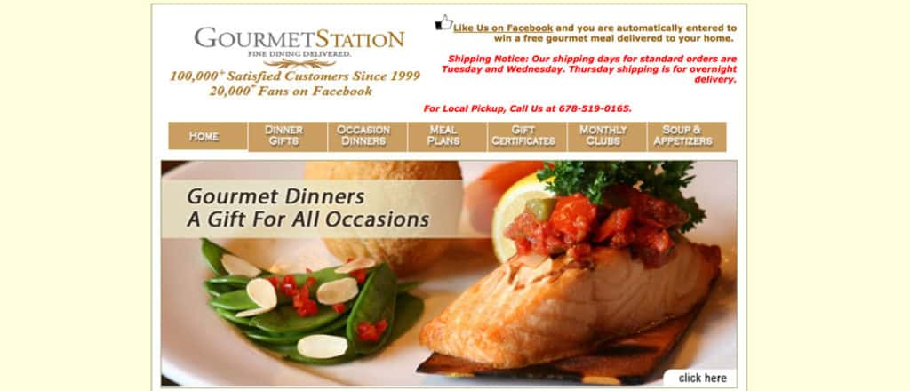 If you're interested in ordering from Gourmet Station, you'll want to have a good look through their website before you decide what you plan to order.