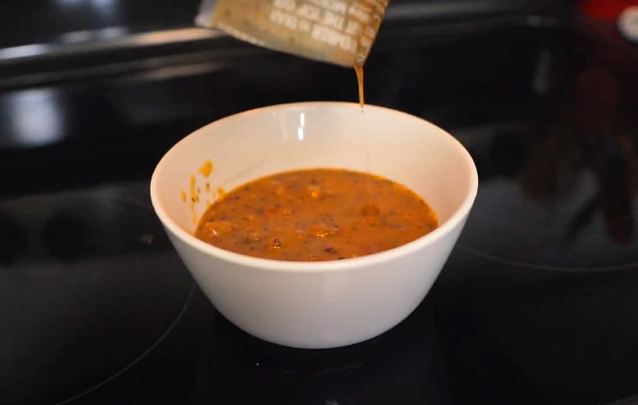 Red Pepper & Meatball Soup